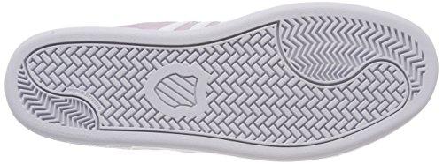 K-Swiss Damen Court Cheswick Sde Sneaker Grau (Gray LILAC/WHITE)