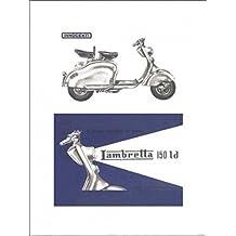 Scooter - Lambretta 150 Ld Stampa D'Arte (40 x 30cm)