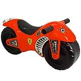 deAO Moto Cavalcabile Bici Senza Pedali per Bambini Aiuta a Migliorare l'Equilibrio (rosso)