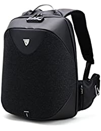 BlueLife Canvas 20 Ltr Black Laptop Backpacks with USB Charging Port 21c24742f22f8
