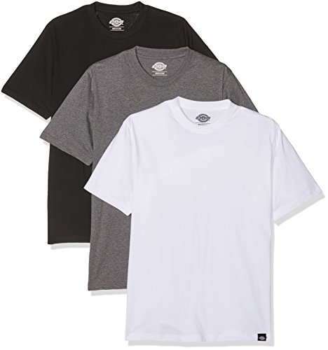 Dickies Herren Langarmshirt Streetwear Male T-Shirt Pack, Mehrfarbig (Assorted Colour AS), M