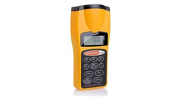 Ultraschall Entfernungsmesser Genauigkeit : Hehilark ultraschall distanzmessgerät messgerät mini tragbare