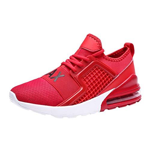 letter54 Elegante Schuhe Herren Fitness Sneaker 2019 39-47 EU Große Größe Hohe Elastische Luftkissen Bottom Sneakers Gewebte Laufschuhe