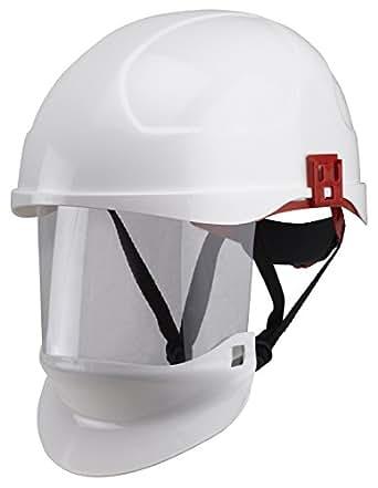 ProGARM 2660 ARC Flash Class 1 Helmet with Integral Visor - White