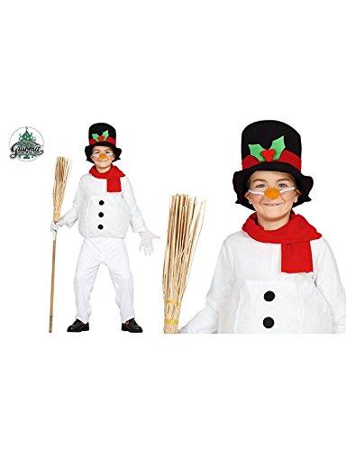 Imagen de disfraz de muñeco de nieve infantil 3 4 años