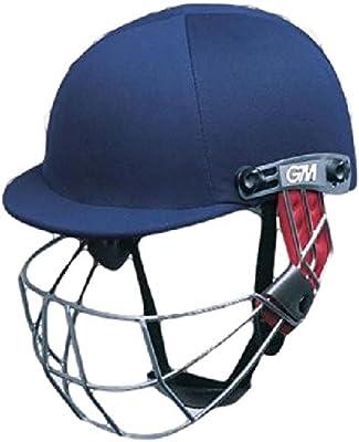 Gunn y Moore purista Geo cabeza cara protección críquet casco Batsmans/marina JNR