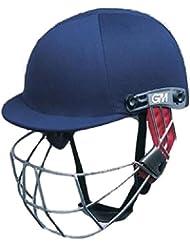 Gunn & Moore Icon de críquet Batsman cabeza casco de bateo de protección Superior azul marino