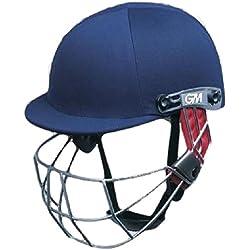 Gunn y Moore purista Geo cabeza cara protección críquet casco Batsmans/marina JNR, color multicolor - multicolor, tamaño Adulto