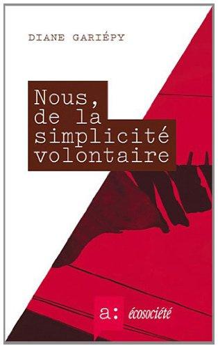 Nous, de la Simplicité Volontaire