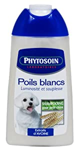 Phytosoin - 095270 - Shampooing Petits Chiens Poils Blancs - 250 ml