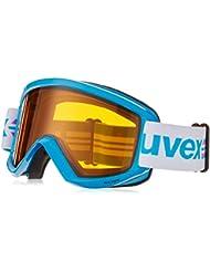 Gafas de esquí Uvex Fire Race, Azul/oro láser Lite, talla única, S5505074929