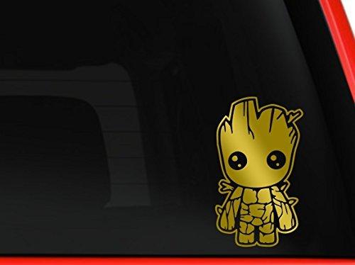 Stick'emAll Baby Groot Guardians Of The Galaxy Auto Truck MacBook Mac Air Laptop Toolbox Lunch Box Vinyl Aufkleber Aufkleber ca. 14cm Zoll (Galaxy Vinyl-aufkleber)