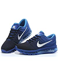 Airmax 2017 Blue Sports Running Shoes For Mens
