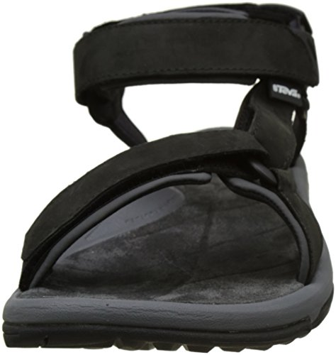 Teva Herren M Terra Fi Lite Leather Leichtathletikschuhe Schwarz (Black BLK)