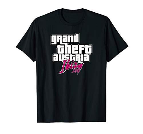 GRAND THEFT AUSTRIA IBIZA STRACHE KURZ IBIZAGATE VATERTAG T-Shirt