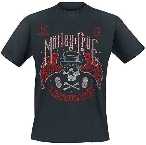Mötley Crüe Biker Skull T-Shirt schwarz XL -