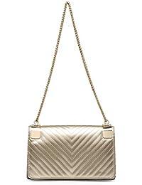 Amazon.es  Dorado - Shoppers y bolsos de hombro   Bolsos para mujer ... cfab46592ff9