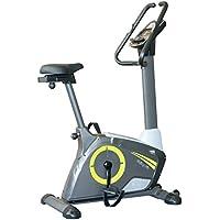 Preisvergleich für EnjoyFit® Ergometer Heimtrainer Fahrradtrainer mit Handpuls-Sensoren, 5,5 Zoll Display, Computer mit verschiedenen Trainingsprogramme, 12 Kg Schwungmasse