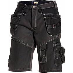 Blakläder 150213109900C52 X1500 Short artisan Taille C52 Noir