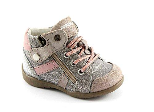 Flori Mitte Grigio Schnürsenkel 082 Ersten Zip Baby 40 Primigi Schritte Schuhe SOqfxE