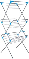 Minky 3 Tier Indoor Airer, 15m drying space, Silver