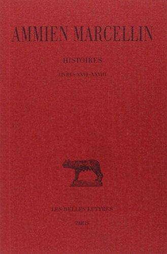 Histoires, tome 5, livres XXVI-XXVIII par Ammien Marcellin