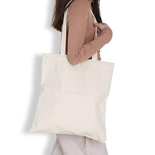 Weiß Leinwand Staubbeutel 2Pack, lemeso Heavy Duty Reinigungstuch Shopping bags-reusable und tragbar Canvas Tote mit verstärkte Griffe für Frauen, Dekorieren (Tuch Bulk-lebensmittel-beutel)