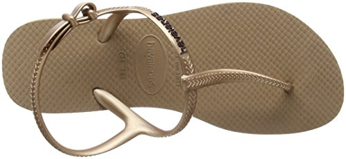 Havaianas Freedom, Sandalesfemme Or (Rose Gold 3581)