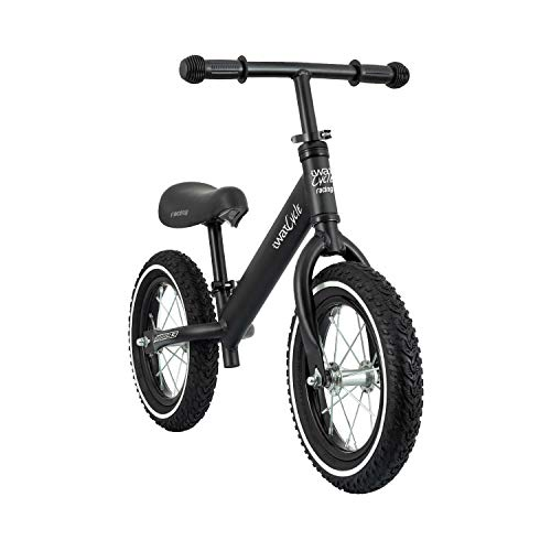 IWATMOTION iWatCycle Bicicleta niños sin Pedales, Unisex, Negro, S