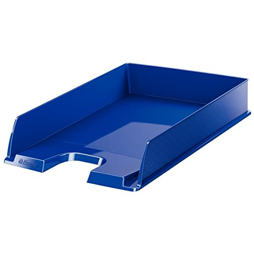 Esselte vaschetta portacorrispondenza standard, Formato A4, Polistirene, Blu, Europost, 623606