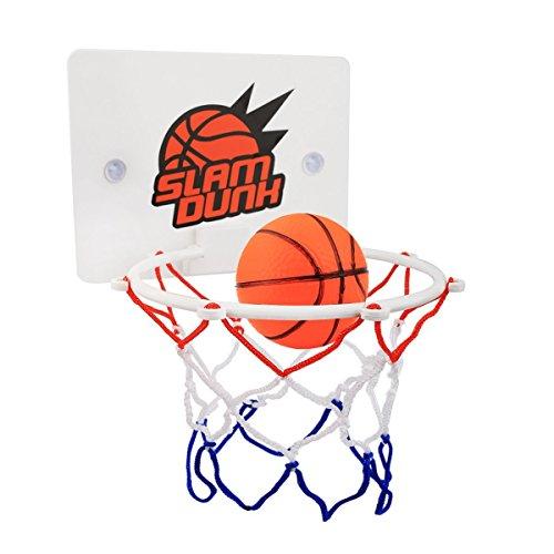 mini basketballkorb Slam DunkMini Basketball Brett Dekomprimieren Spielzeug Freizeit Sport mit Ball und Pumpe für Büro, Zimmer, Schlafzimmer, Badezimmer oder Toilette