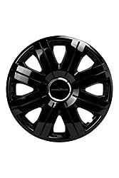 Goodyear 75507 Wheel Covers Clip 15 -inch - Black/ Silver (Set of 4)