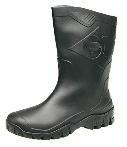 Dunlop, Bottes homme Noir