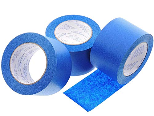 160mmx30m 3D Printer Heated Bed Masking Tape Blue Tape with Adhesive for CR10 3D Printer 3D Printing & Scanning