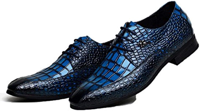 NBWE High End Männer Krokodil Kleid Schuhe Aus Echtem Leder Business Schuhe Hochzeit Braumlutigam Groomsmen Schuhe