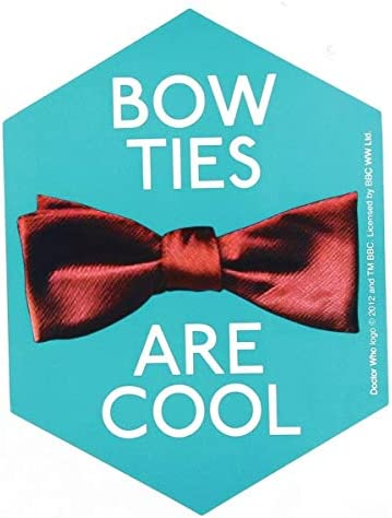 Doctor Who Sticker: Sticker: Sticker: Bow Ties are Cool B00MMOIXAG 9eec7f