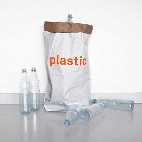 Papiersack 'plastic' - Für Plastik