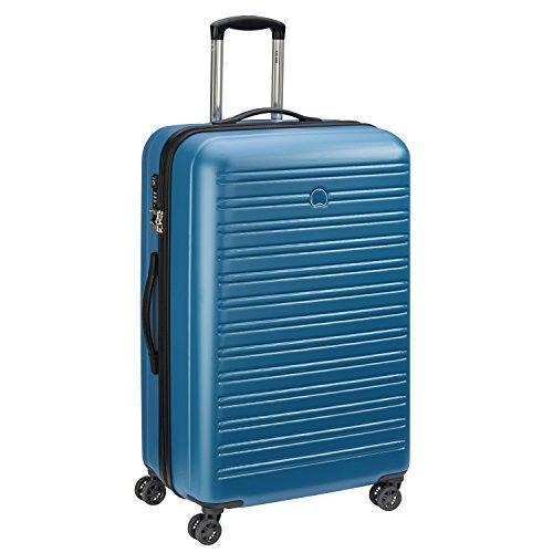 DELSEY PARIS SEGUR Valise, 78 cm, 105 litres, Bleu Canard