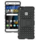 Momoxi Phone Accessory Huawei Handyhülle Handy-Zubehör Mode Shockproof Handy-Fall-Abdeckung mit Standplatz-Halter für Huawei Ascend P9 lite hülle