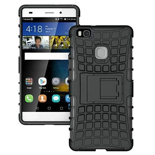 Momoxi Phone Accessory Huawei Handyhülle Handy-Zubehör Mode Shockproof Handy-Fall-Abdeckung mit Standplatz-Halter für Huawei Ascend P9 lite hülle -