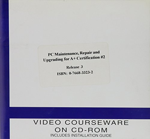 PC Maintenance and Repair for A+ Certification Set 2: CD-Rom