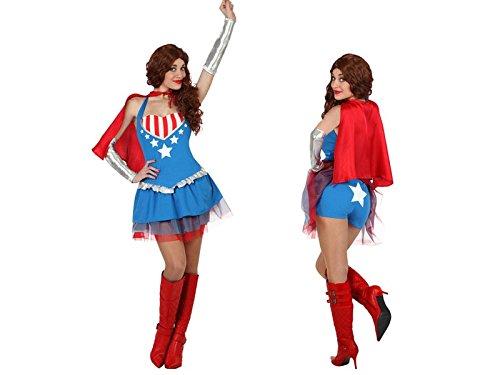 Imagen de disfraz superheroína mujer  único, m