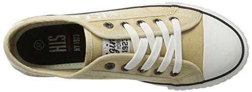 H.I.S Damen 151-020 Sneakers Beige (Beige)