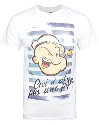 hombres-official-popeye-camiseta-xl