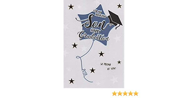 """Well Don Card SON /""""YOU HOLD THE KEY TO THE WORLD/"""" Graduation Congratulations"""