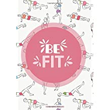 Food and Exercise Journal 2019: A Year - 365 Daily - 52 Week 2019 Planner Daily Weekly and Monthly Food Exercise & Fitness Diet Journal Diary for Weight Loss Colorful Women Design