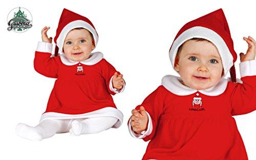 Imagen de disfraz mama noel para bebe de 12 24 meses