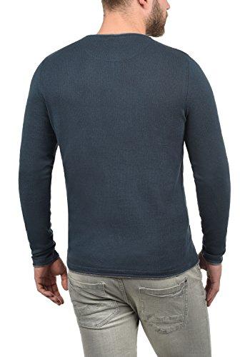 ... BLEND Odin Herren Feinstrick Pullover Strick-Pulli mit Rundhals- Ausschnitt aus 100% Baumwolle ...
