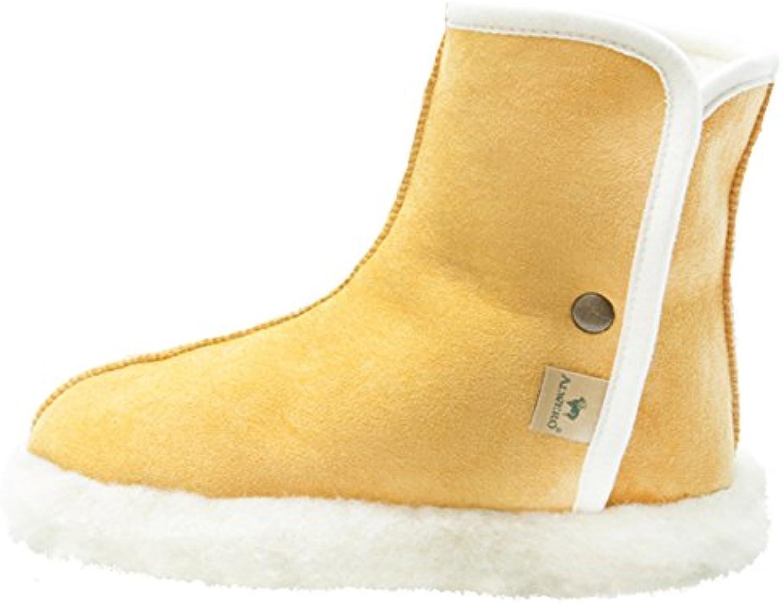 Alwero Woolnite Warme Hausschuhe Wolle  Billig und erschwinglich Im Verkauf
