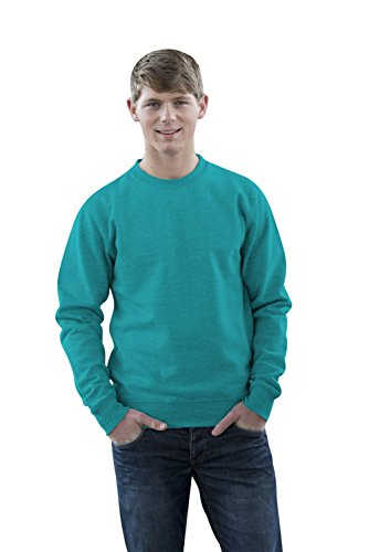 JH030 Sweater Sweatshirt Sweat Sweater Pullover Turquoise Surf